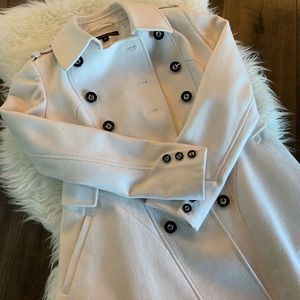 White Via Spiga Coat
